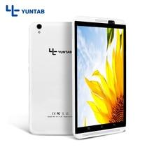 """¡ Venta caliente!! Yuntab 8 """"PC de la Tableta H8 Android 6.0 Quad-Core 4G Teléfono Móvil con soporte de doble cámara de SIM tarjeta de 4500 mAh de la batería"""