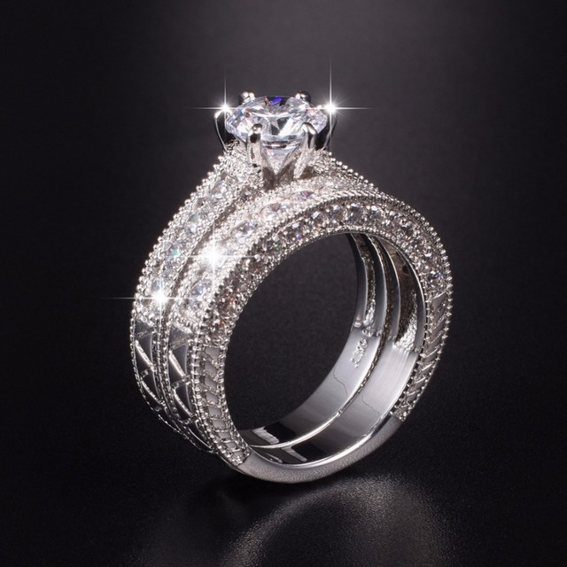 heart ring loading jewelry home engagement online zoom simulated diamond en rings store