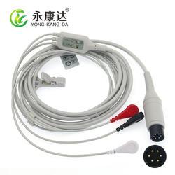 Универсальный 3-проводник ЭКГ приводит/разъемы для мониторов