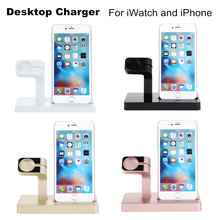 ФОТО szysgsd portable 2 in 1 charging dock for apple watch charger holder for iphone 8 8 plus charger holder stand charging station