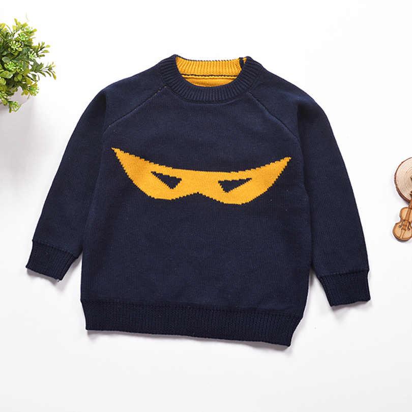 Outono Crianças Top Tees 1-5Yrs Bebê Meninos Camisas Longas Da Luva T Batman Roupas de Malha Crianças Camisola Marca