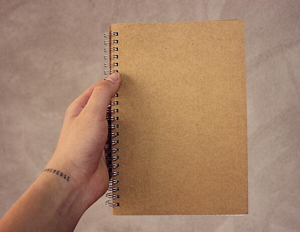 A5 Craft Paper Spiral Dot Inner Page Notebook Grid Line Blank Page Notebook 80 Sheets 160 Pages 2018 yiwi a5 a6 line flower inner page for binder notebook matching filofax refill inner paper 40 sheets page 3