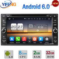 Android 6 0 Octa Core 2GB RAM 2DIN Car DVD Radio Player For Toyota Land Cruiser