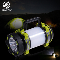 Super bright LED Flashlight Portable Spotlights searchlight XP G2 USB Rechargeable torch led camping light working light