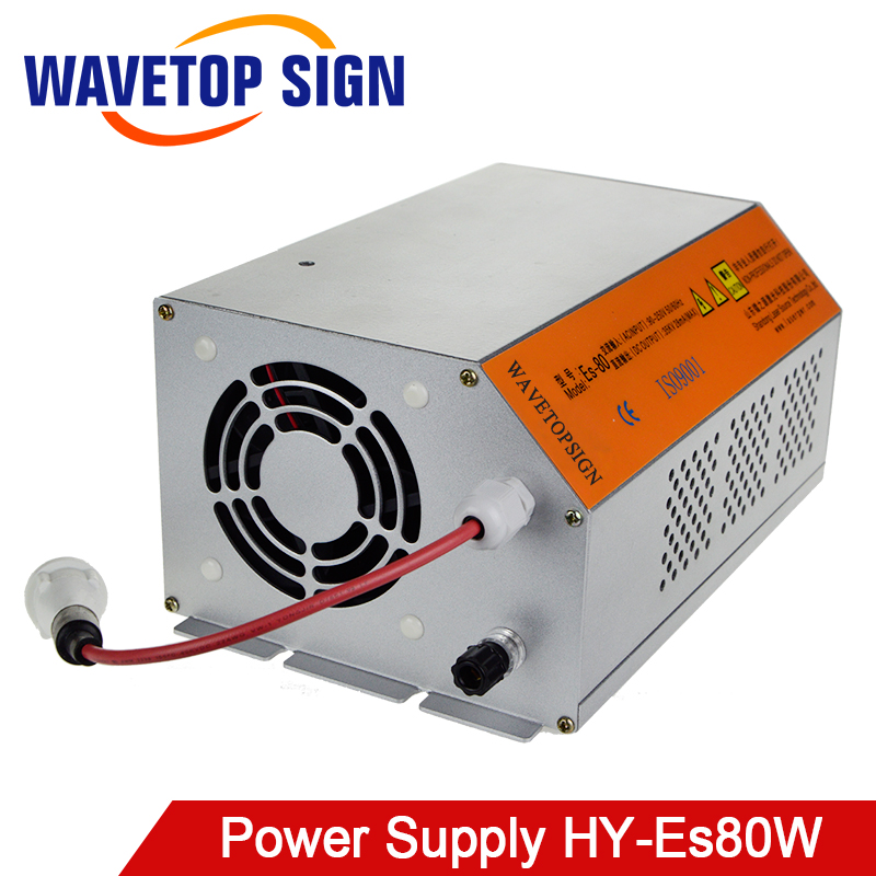 WaveTopSign 80-100W 80W HY-Es80 CO2 Laser Power Supply for CO2 Laser Engraving Cutting Machine Es Series
