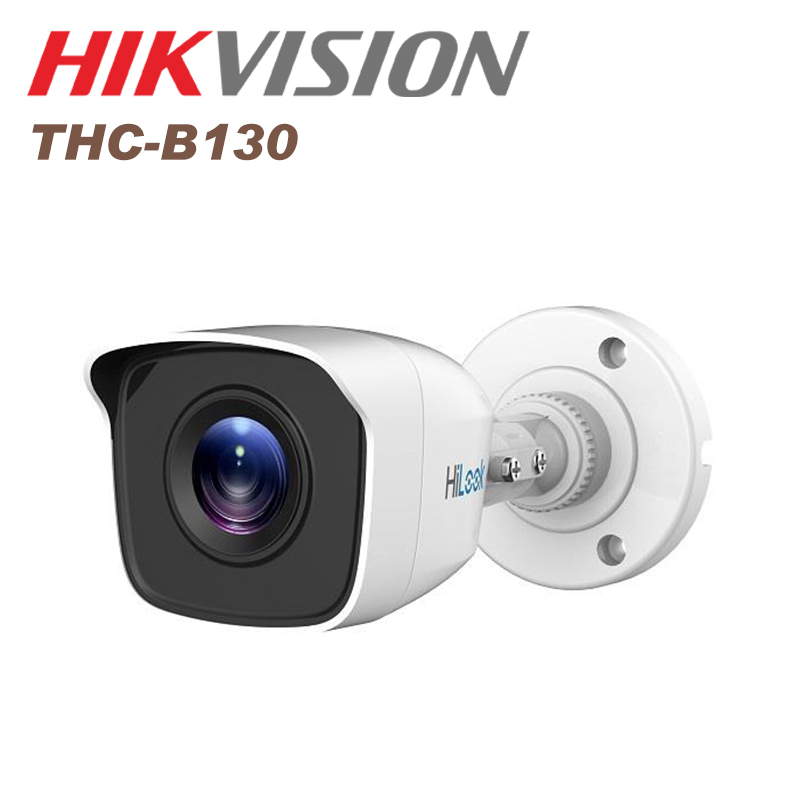 Hikvision cctv camera 3 MP EXIR Bullet Camera IP66 THC-B130(2.8mm) TVI cctv IR camera bullet camera tube camera headset holder with varied size in diameter