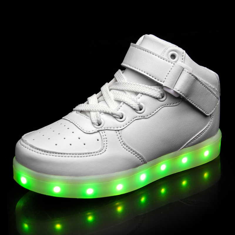 Warm like home White New 25-39 USB Charger Glowing Sneakers Led Children Lighting Shoes Boys Girls illuminated Luminous SneakerWarm like home White New 25-39 USB Charger Glowing Sneakers Led Children Lighting Shoes Boys Girls illuminated Luminous Sneaker