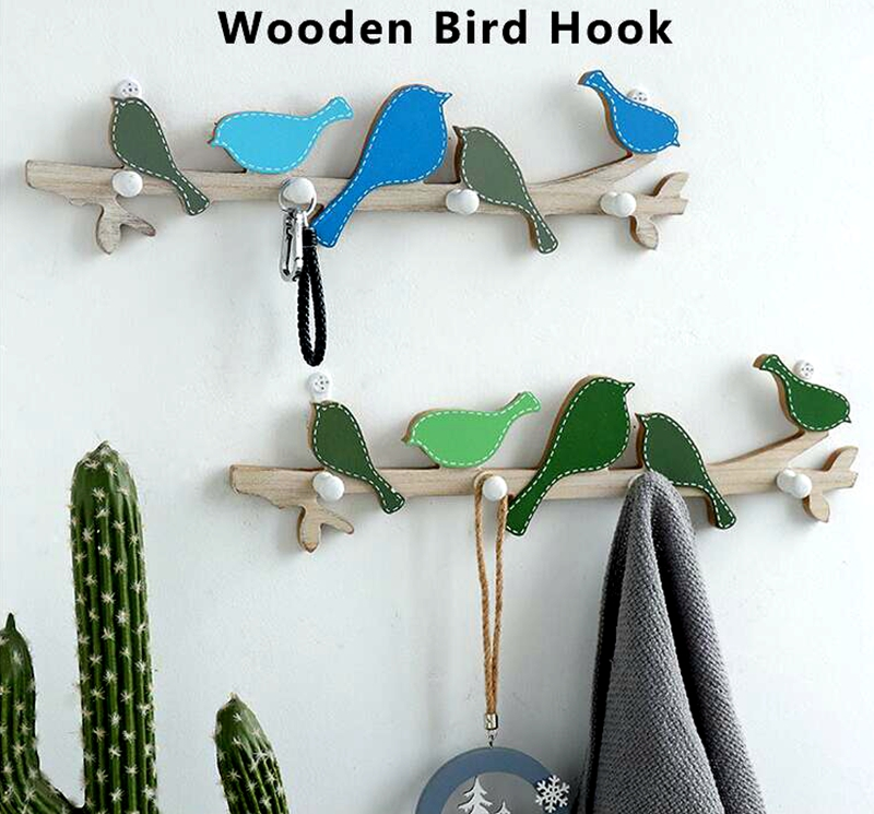 Creative clothing store wall coat hook (1)