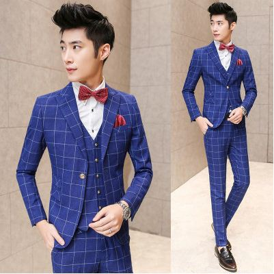 Online Buy Wholesale mens wedding dress blue from China mens