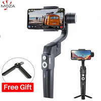 Moza Mini-S Foldable 3-Axis Smartphone Gimbal Handheld Vlog Stabilizer for GoPro iPhone X Huawei VS Moza Mini-Mi Zhiyun Smooth 4