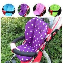 Newboen для детской коляски коврик для подушки Жираф подушка для сиденья автомобиля хлопок теплый толстый Cart чехол коврики