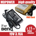 MDPOWER For BENQ Universal Laptop Power AC Adapter Charger 19V 3.16A Cord