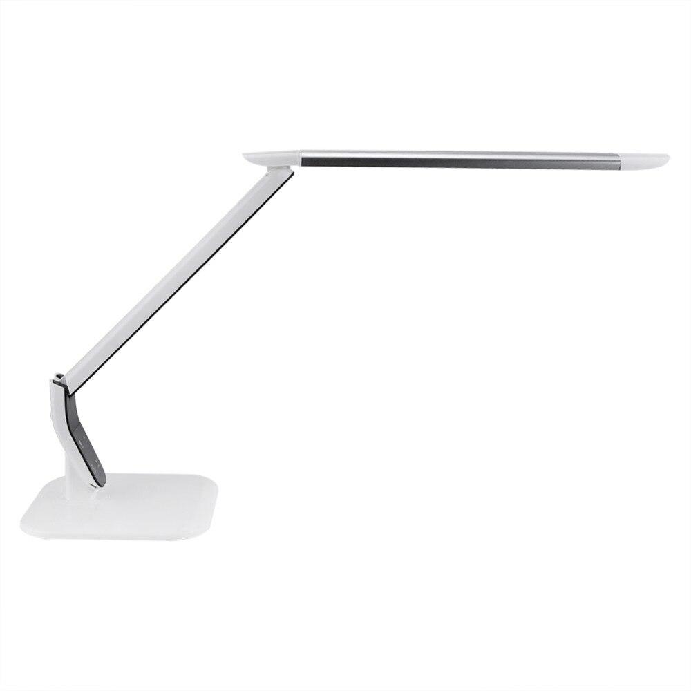 Защита глаз Smart светодиодный настольная лампа сенсорный выключатель Складная затемнения Спальня ночного освещения ЕС Plug