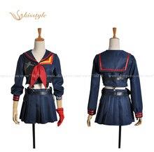 Kisstyle Мода убить ла Matoi unifrom косплей костюм COS форменной одежды, индивидуальные принято