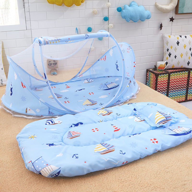 Bedding Sweet Baby Bed Mosquito Net Baby Tent Foldable Portable Safety Multi-function Suitable For Babies From 0 To 18 Months #84448 Bedding Sets
