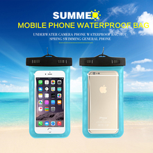 LUCKBUY Universal 4.8-6.0 Waterproof Phone Bag Pouch for iPhone X 6 7 8 plus Case Dry Cover Xiaomi Samsung S8