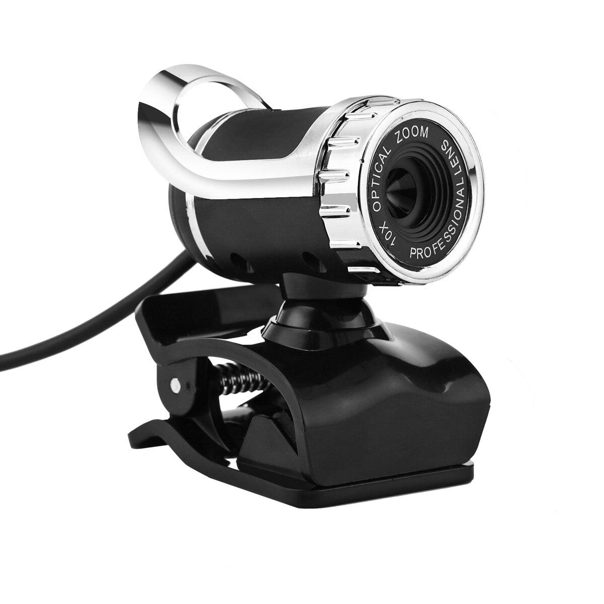 360 Degrees Rotatable Clip-on USB Webcam with Adjustable Focal Length Lens for Laptop/Desktop 2