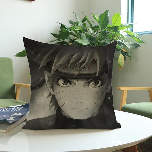 Excellent Free Shipping Anime Manga Naruto Throw Pillow Case 45 45Cm Pillow Case Sofa Seat Bedding Cushion Cover Almofadas Machost Co Dining Chair Design Ideas Machostcouk