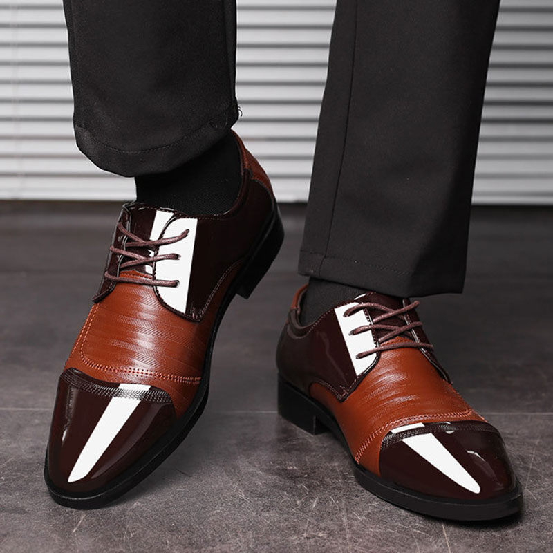 Luxury Business Oxford Leather Shoes 15