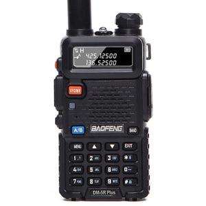 Image 2 - Baofeng DM 5R plus Tier1 Tier2 cyfrowe Walkie Talkie DMR podwójny czas gniazdo dwukierunkowe radio VHF/UHF radio dwuzakresowe wzmacniacz DM5R plus