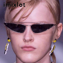 IMIXLOT Small Frame The shape of Water Drop Glasses Anti-UV Sunglasses