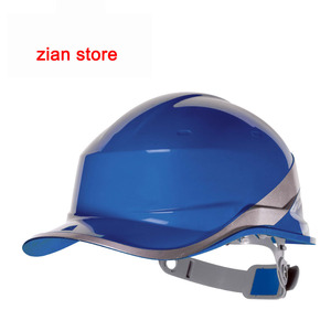 Image 2 - Free print logo Safety Helmet Hard Hat Work Cap ABS Insulation Material With Phosphor Stripe Construction Protect Helmets