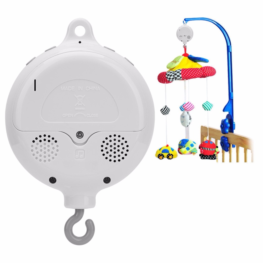 Permalink to Music Box Baby Infant Crib Bed Hanging Musical Bell Electric Music Box 12pcs Sweet Melodies enhance baby's cognition of music