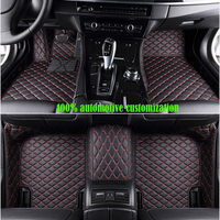 custom car floor mats for peugeot 307 sw 308 107 206 207 301 407 408 508 2008 4008 5008 car mats auto accessories