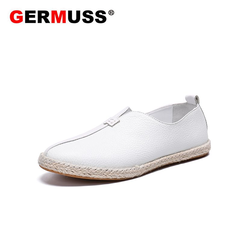 все цены на Fisherman shoes Genuine Leather Shoes Men Flats Gommino Driving Shoes Brand Fashion Summer Style Soft Moccasins Men Loafers