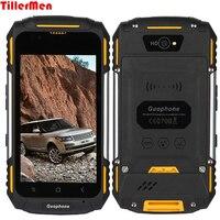 V88 không thấm nước gồ ghề điện thoại Quad core Mtk6580 1 Gam ram 8 Gam Điện Thoại thông minh 4 inch 8MP 3200 mAh Android 5.1 dustproof chống sốc điện thoại