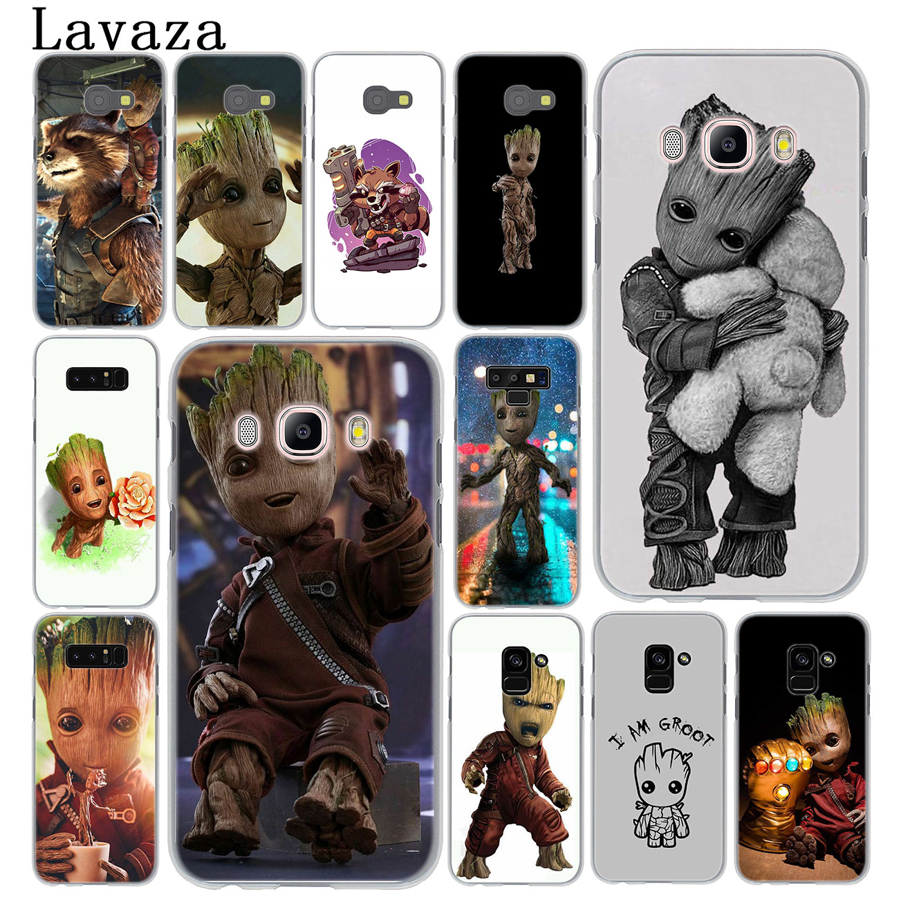 Lavaza Guardians of the for Galaxy Marvel Case for Samsung Galaxy A9 A8 A7 A6 Plus 2018 A5 A3 2017 2016 2015 Note 9 8 A8Plus(China)