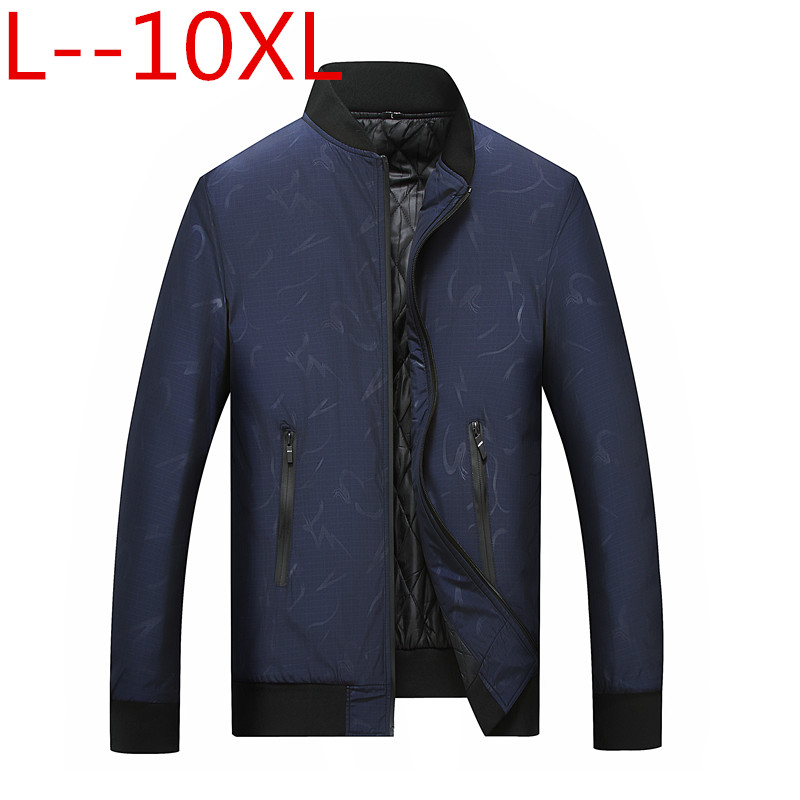 10XL 8XL Winter Brand Men Jacket Plus Size Winter Jacket High Quality Fashion Men's Coat Hot Sale Big size 6XL 5XL 4XL Large thumbnail