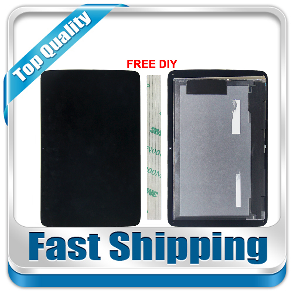 New For LG G Pad 10.1 V700 VK700 LCD Display + Digitizer Touch Screen Glass Assembly Black Repairment Parts цена