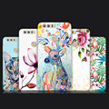 Silicon Case For Huawei Honor 8 Mobile Phone 5.2 Inch High Quality 3D Relief Painting Safety Protector Back Cover Case