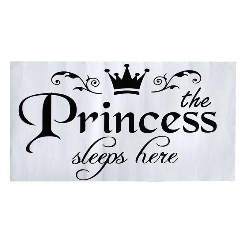 HTB1fLVhKpXXXXaLapXXq6xXFXXXb - New Arrival DIY Removable Princess Sleeps Wall Stickers For Kids Rooms