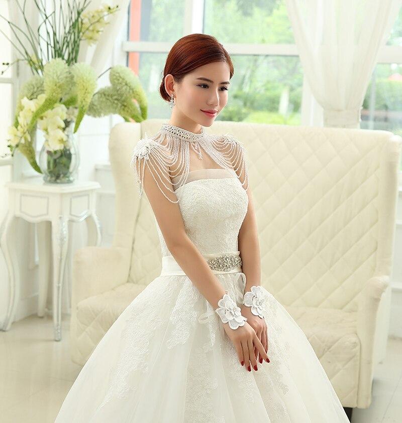 Jacket Wedding Lace Bolero jacket Wedding Accessories Jaquetas de casamento Beaded Bridal Beaded Jewelry Luxury Rhinestone JK002(China (Mainland))