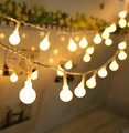 Ball 5M 50led Battery led string light  outdoor decoration light for holiday Xmas wedding Party