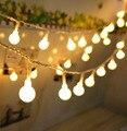 Bola 5 M 50led Batería led cadena de luz para Navidad Del Banquete de boda de vacaciones luz decoración al aire libre