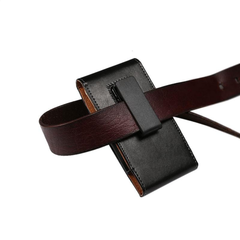 Untuk Samsung Galaxy S8 Belt Clip Holster Mewah PU Kulit Telepon - Aksesori dan suku cadang ponsel - Foto 2