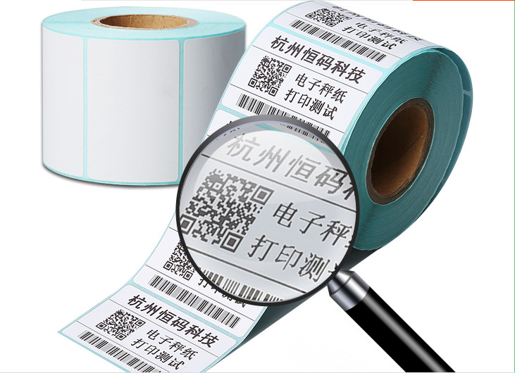 1roll Thermal sticker paper 60x40mm 700sheets waterproof barcode printing paper paper ba ...