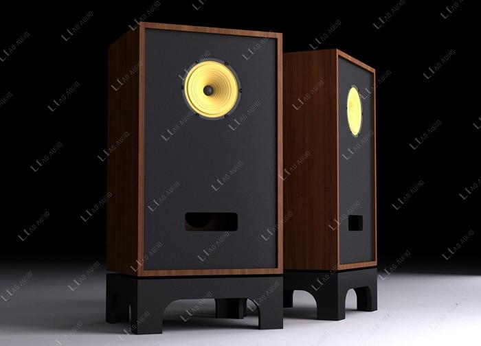 H-026 HIFI FE8 8 inch full range floor standing speaker good quality vacuum tube amplifier speaker not include speaker box queenway alnico magnet steel magnetic full range hifiend 15 inch speaker driver ture hifi full range speaker ball skeleton