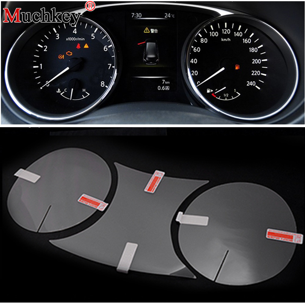 New Styling Car Dashboard Protective Film Scratchproof For NISSAN X-Trail Rogue T32 2014 2016 Car Interior Accessories