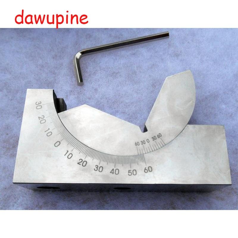 dawupine KP30 Adjustable Angle Gauge Milling Machine Angle Block Grinding Machine Gauge Pad Grinder Accessories Angle Plate gauge block set 103pcs metric milling grinding setup layout machinist l99
