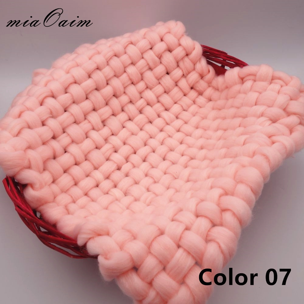 5pcs/lot New Baby Blanket Bulky Weave Blanket For New Kids Basket Blanket Receiving Blanket Basket Filler Stuffer Studio Foto