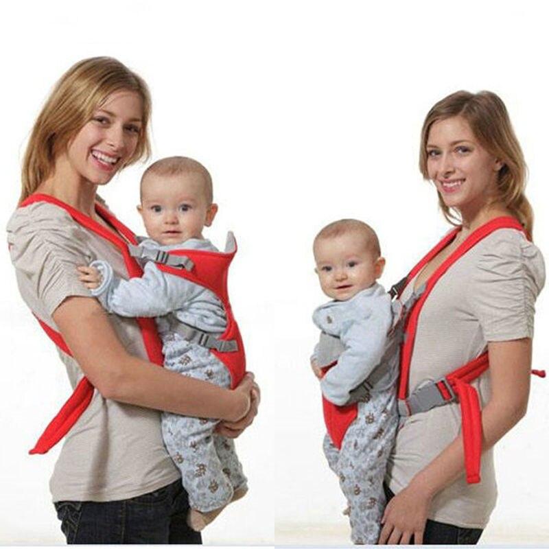Adjustable Infant Baby Carrier Newborn Cradle Kid Sling Wrap Front Back Backpack 2017 New Arrival Hot Pouch Bag Comfort Hip Seat