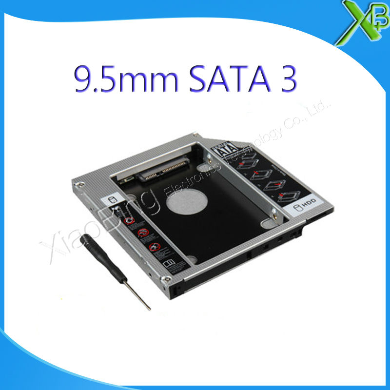 цена на NEW SATA 2ND Hard Disk Drive SSD HDD Caddy for MacBook Pro A1278 A1286 A1297 2.5/ 9.5mm SATA to SATA HDD Caddy