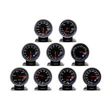 Cnspeed 60 мм черный Уход за кожей лица Turbo Boost, вода/масло температура, давление масла, вольтметр, воздух/топливо/ОГ темп, тахометр