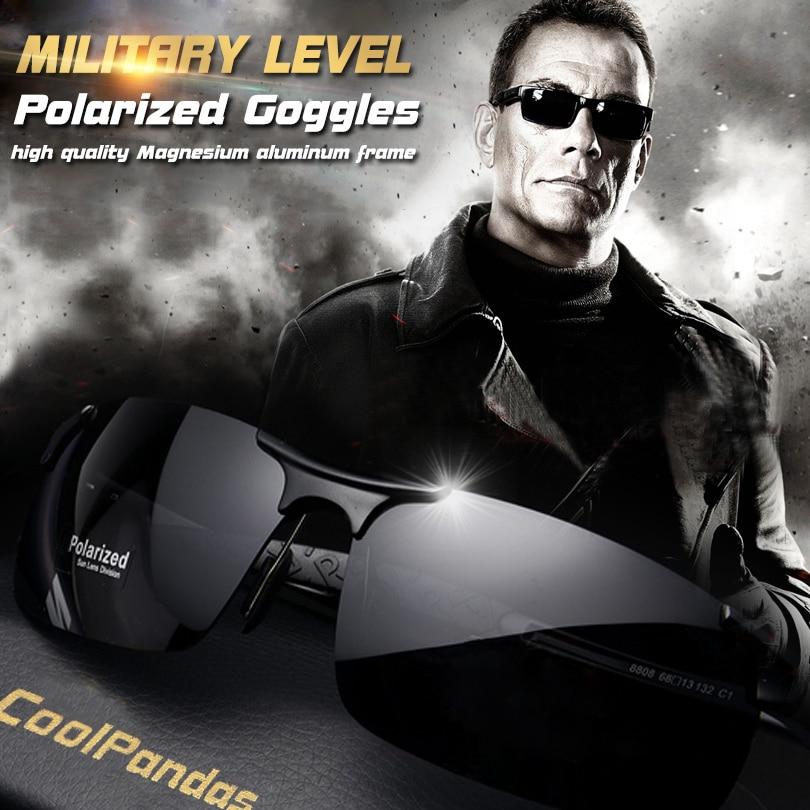 601268dee Barato Homens óculos de Sol Óculos de Condução de Alumínio E Magnésio  Polarizada óculos de Sol