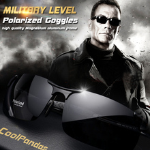 Men Polarized Sunglasses Military Goggles Aluminum Magnesium