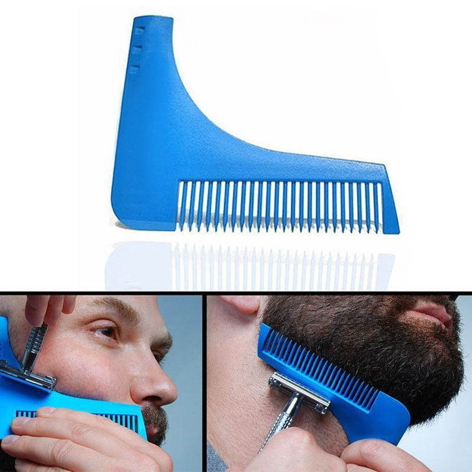 Beard B Plus Shaping Template All In One Tool The Care Grooming Gift Kit For Any Bro Use With A Trimmer Or
